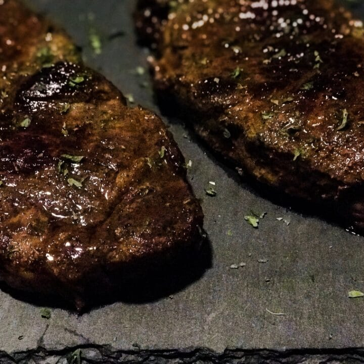 This is the juiciest, most tender steak you will ever have. Not only that but this steak also has that thick and flavorful crust we all love! Best of all, it's super easy to make!