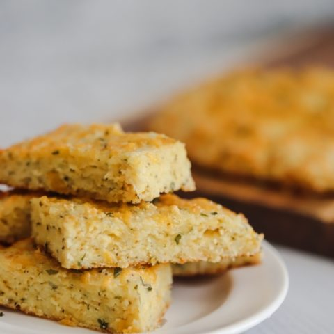 Cheesy Keto Garlic Bread