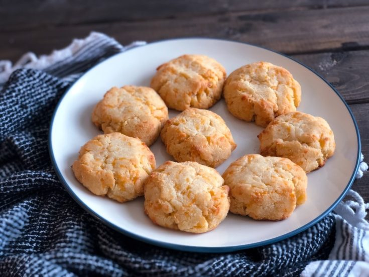 Easy Keto Cheddar Biscuits