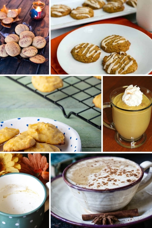 collage of 6 keto cookie and keto drink images