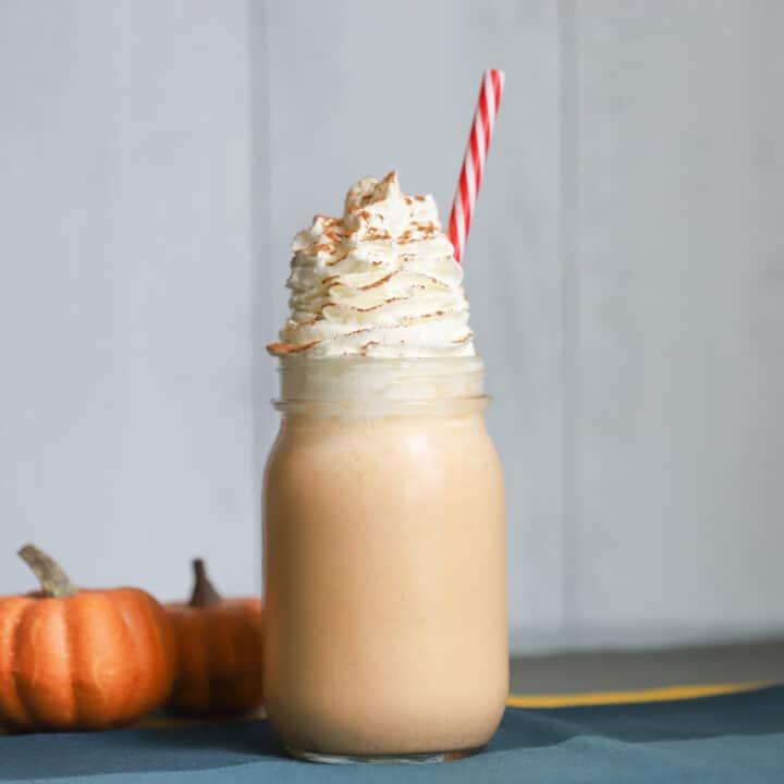 Keto Pumpkin Cheesecake Shake