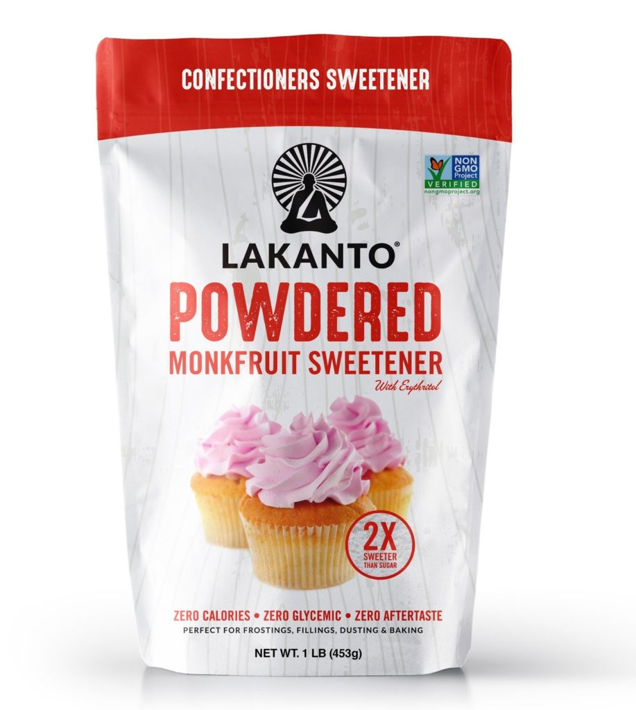 bag of lakanto powdered sweetener