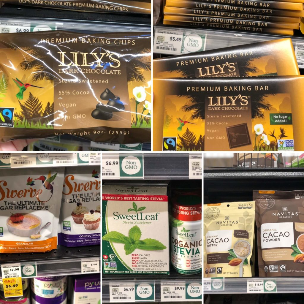 keto Whole Foods baking goods and sweeteners options
