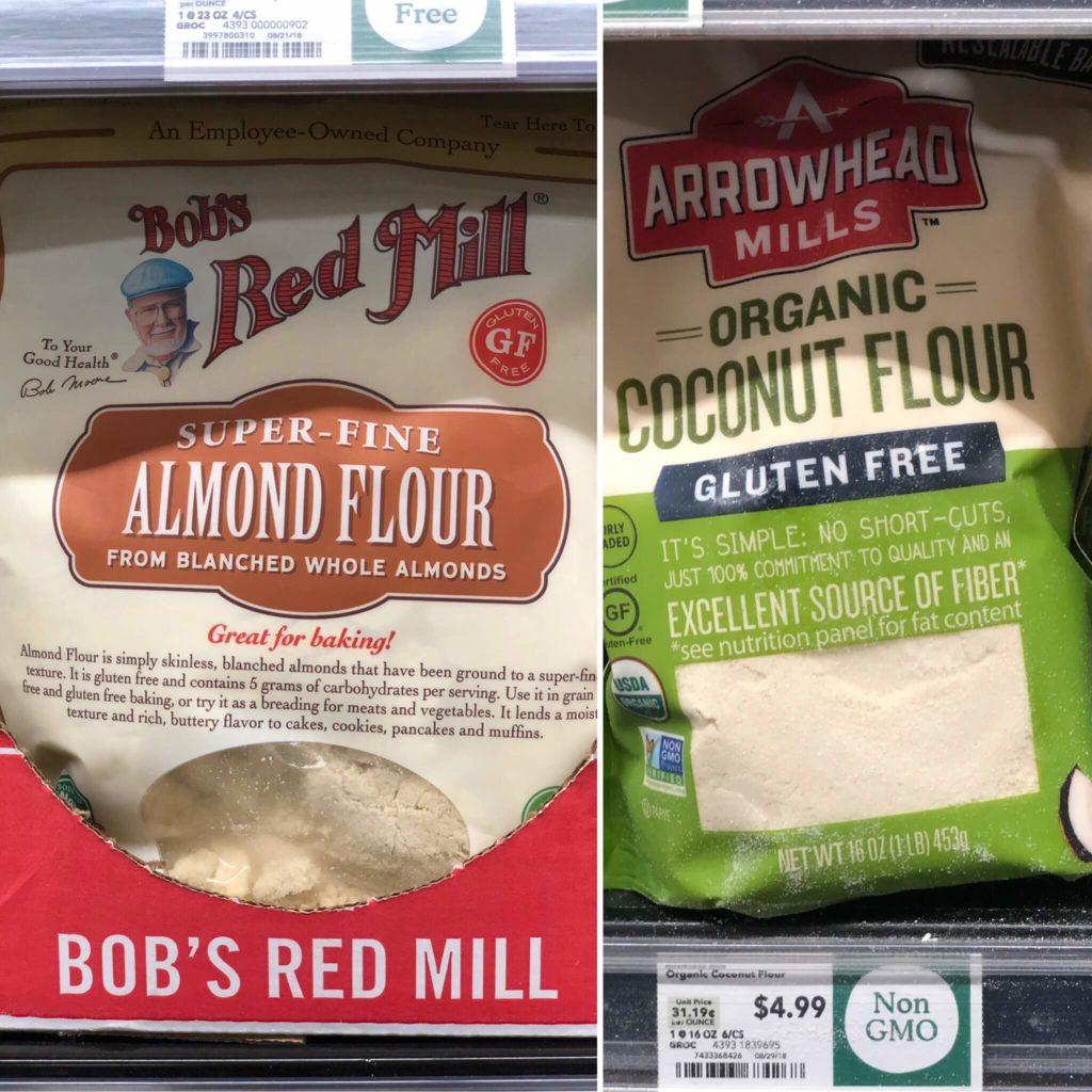 keto Whole Foods baking goods options