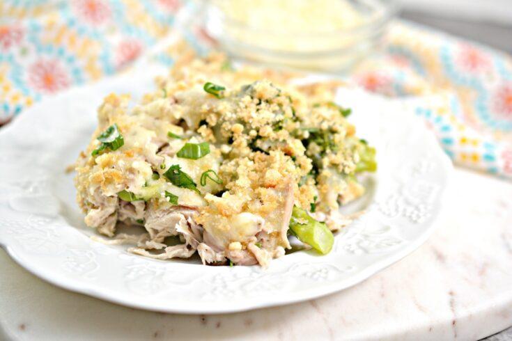 Quick and Easy Keto Chicken Broccoli Casserole
