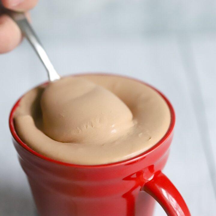Wendys Keto Chocolate Frosty