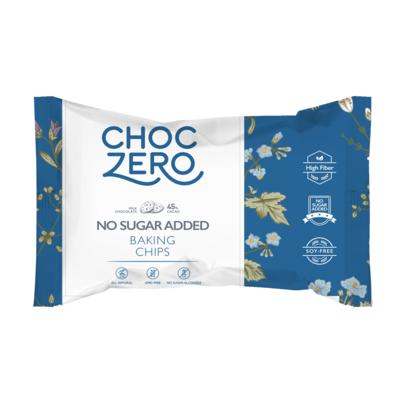 bag of milk chocolate ChocZero chocolate chips