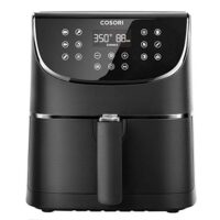 Air Fryer, LED Digital Touchscreen with 11 Presets