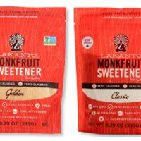 Lakanto Monkfruit Natural Sweetener Variety Pack, Classic and Golden Sweetener