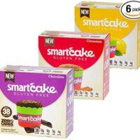 3 Boxes SMARTCAKE Bundle: 1x Chocolate 1x Lemon 1x Cinnamon: Gluten Free, Sugar Free, Low CARB, Keto Snack Cakes: 6X Twin Packs (12 Individual Cakes)