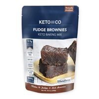 Keto and Co Fudge Brownie Mix | Low Carb, Just 1 Net Carb Per Serving