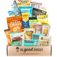 KETO Friendly Snacks Gift Care Package (5g Net Carbs or Less) Gift Basket Alternative