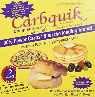 Carbquik Baking Mix, 3 lb (48 oz)