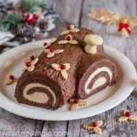 Yule Log Cake Recipe - Buche de Noel