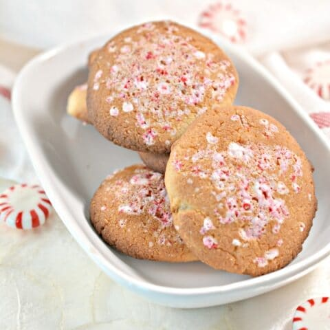 Low Carb Keto Peppermint Cookies