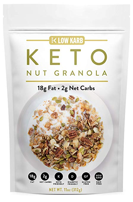 Low Karb - Keto Nut Granola