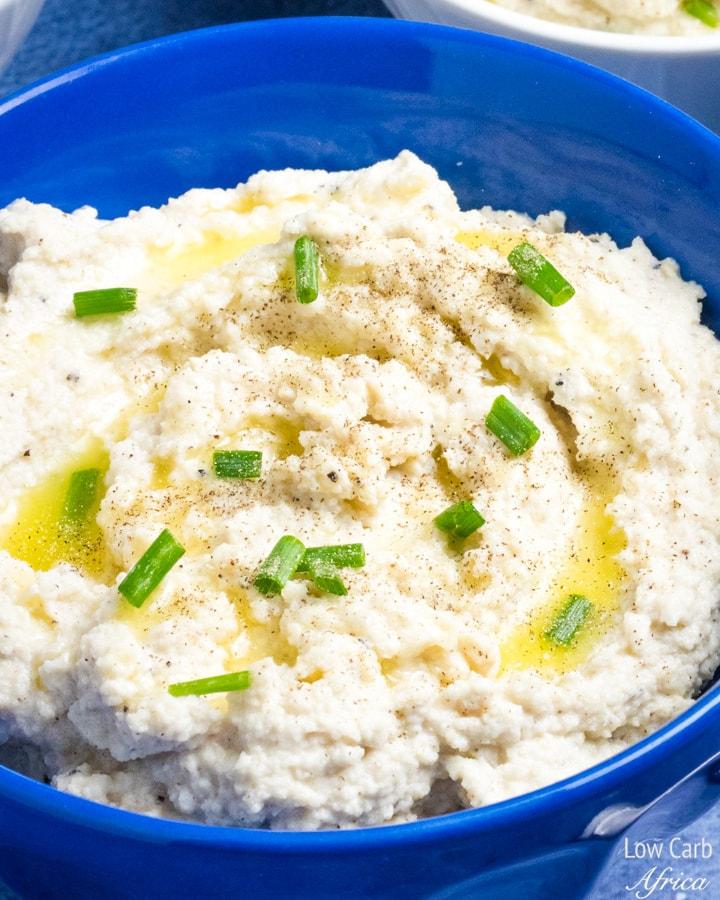 Cauliflower Mash with Sour Cream