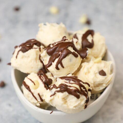 Triple Chocolate Keto Cookie Dough Bites