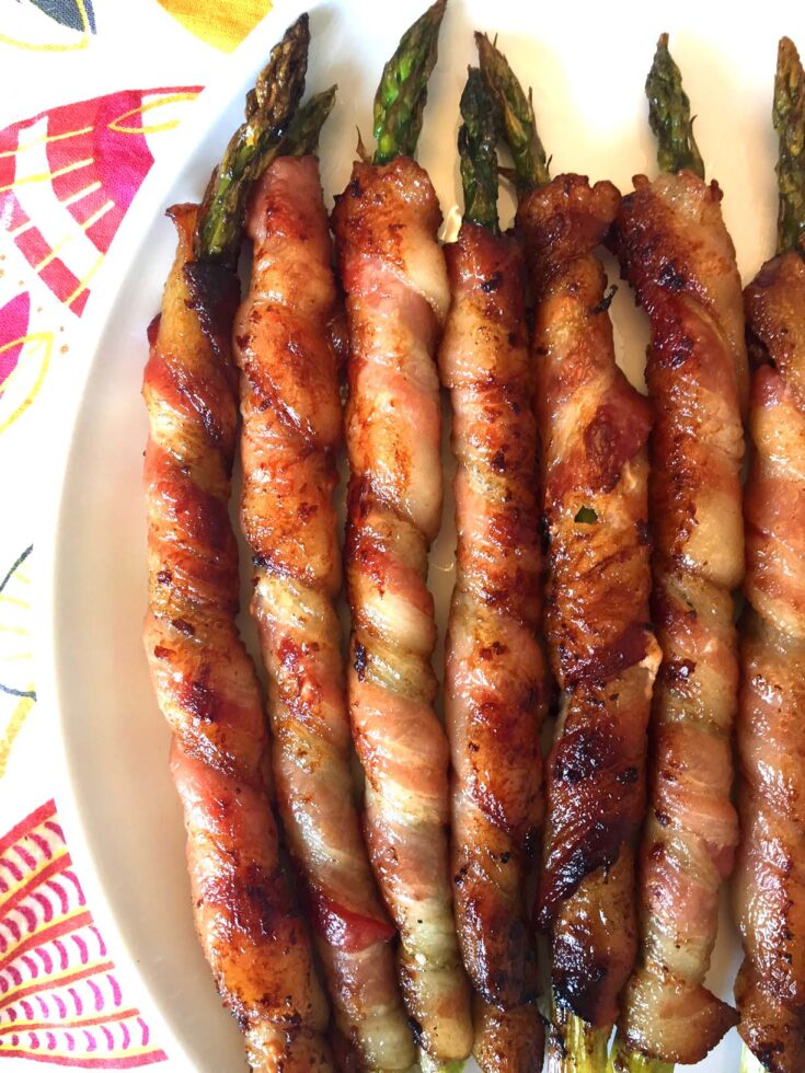 Bacon Wrapped Asparagus Appetizer Recipe