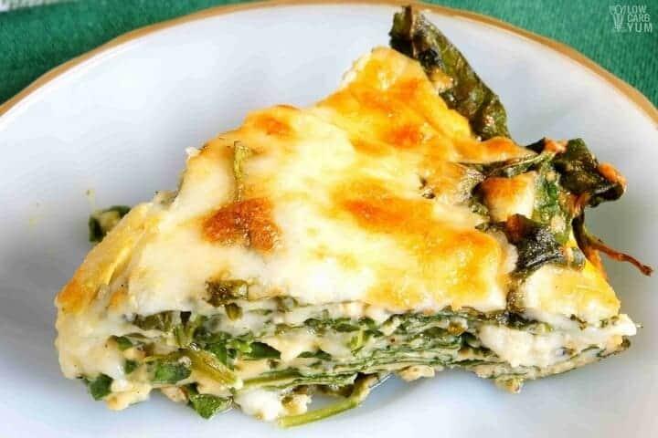 Crustless Spinach Cheese Pie – Gluten Free