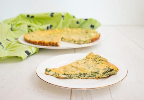 Low Carb Spanakopita Recipe (Low Carb Spinach Quiche)