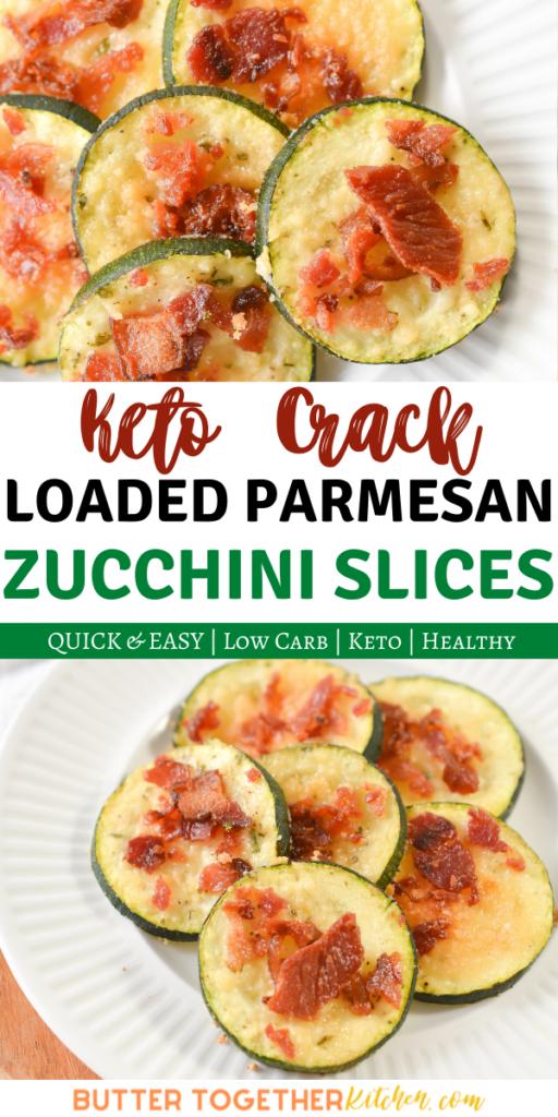 Keto Loaded Parmesan Zucchini Slices Laptrinhx News