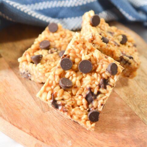 Keto Peanut Butter Rice Krispie Treats