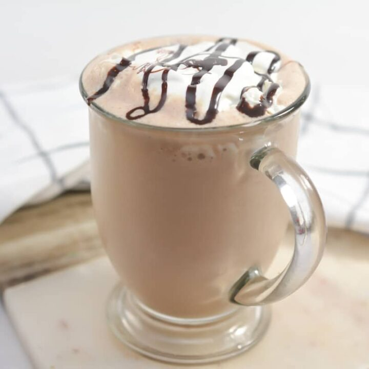 Keto Chocolate Coffee Milkshake